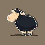 Vector cute sheep Stock Photos