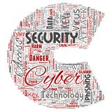 Vector cyber security online access technology letter. Vector conceptual cyber security online access technology letter font C word cloud  background. Collage of Royalty Free Stock Photo
