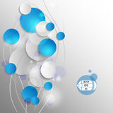 Vector 3D background Royalty Free Stock Images