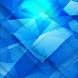 Vector 3d banners and squares. Design Royalty Free Stock Photo