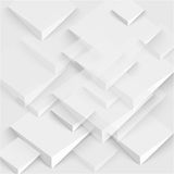 Vector 3d banners and squares. Design Stock Image