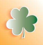 Vector 3D Clover Leaf Royalty Free Stock Photos