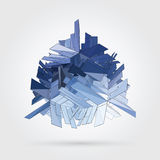 Vector 3D concept illustration Royalty Free Stock Photography