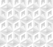 Vector 3d cubes pattern Royalty Free Stock Photo