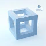 Vector 3d illustratie Royalty-vrije Stock Foto's