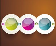 Vector 3D illustration Stock Photography
