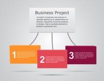 Vector 3D infographic tabletten Malplaatje voor diagram, grafiek, presentatie en grafiek Bedrijfsprojectconcept met 3 vector illustratie