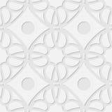 Vector 3d naadloze geometrische patroonachtergrond Royalty-vrije Stock Fotografie