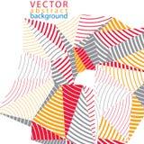 Vector 3d o contexto complicado, estilo moderno da tecnologia digital Fotografia de Stock