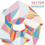 Vector 3d o contexto complicado, estilo moderno da tecnologia digital Foto de Stock