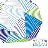 Vector 3d o contexto complicado, estilo moderno da tecnologia digital Imagens de Stock