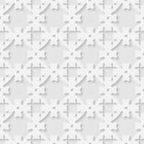 Vector 3d seamless geometric pattern background Stock Photo