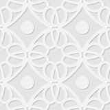 Vector 3d seamless geometric pattern background Stock Images