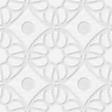 Vector 3d seamless geometric pattern background Royalty Free Stock Photography