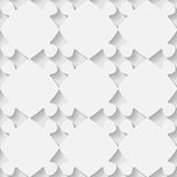Vector 3d seamless puzzle pattern Stock Images