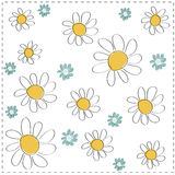 vector Daisy background Stock Photo