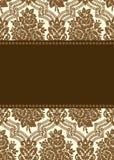 Vector Damask Frame Royalty Free Stock Image