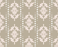 Vector damask pattern ornament. Elegant luxury texture for textile, fabrics or wallpapers backgrounds. Vector damask pattern ornament. Elegant luxury texture for Royalty Free Stock Photo