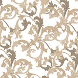 Vector damask pattern ornament. Exquisite Baroque template. Classical luxury fashioned damask ornament, Royal Victorian texture for wallpapers, textile Stock Photo