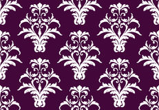 Vector damask pattern ornament. fabrics or wallpapers backgrounds Royalty Free Stock Photo