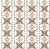 Vector damask pattern ornament. Vector damask pattern ornament, gold Royalty Free Stock Image
