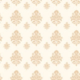 Vector damask seamless pattern background Royalty Free Stock Photo