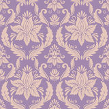 Vector damask seamless pattern background Royalty Free Stock Photos