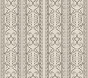 Vector damask seamless pattern background aboriginal curve spira. L cross triangle frame line Stock Illustration