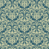 Vector damask seamless pattern background. Classical luxury old fashioned damask ornament, royal victorian seamless Royalty Free Stock Image