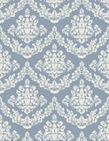 Vector damask seamless pattern background. Classical luxury old fashioned damask ornament, royal victorian seamless texture for wallpapers, textile, wrapping Royalty Free Stock Images