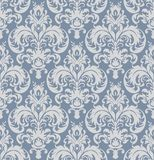 Vector damask seamless pattern background. Classical luxury old fashioned damask ornament, royal victorian seamless texture. vector illustration