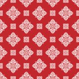 Vector damask seamless pattern background. Classical luxury old vector illustration
