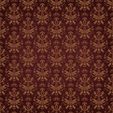 Vector damask seamless pattern background. Damask seamless pattern for design. Vector Illustration vector illustration