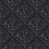 Vector Damask Seamless Pattern Background. Elegant Royalty Free Stock Images