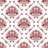Vector damask seamless pattern background. Elegant luxury texture for wallpapers, backgrounds and page fill. Vector damask seamless pattern background. Elegant stock illustration