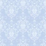 Vector damask seamless pattern background. Stock Photos