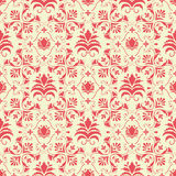 Vector damask seamless pattern background. Stock Photo