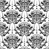 Vector damask seamless pattern background Royalty Free Stock Photography