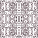 Vector damask seamless pattern background. Elegant luxury texture for wallpapers, backgrounds and page fill. Stock Photography