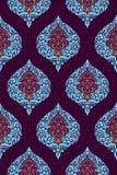 Vector damask seamless pattern Royalty Free Stock Photo