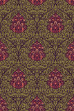 Vector damask seamless pattern Royalty Free Stock Photography
