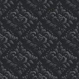 Vector damask seamless pattern background. Elegant Stock Photo