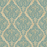 Vector damask seamless pattern background. Elegant Stock Photo