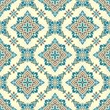 Vector damask seamless pattern Royalty Free Stock Image