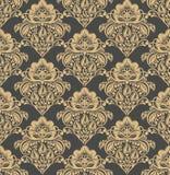 Vector damask seamless pattern background Stock Image