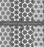 Vector damask seamless pattern background. pattern swatches included for illustrator , swatches Royalty Free Stock Photography