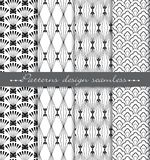 Vector damask seamless pattern background. pattern swatches included for illustrator , swatches Stock Image