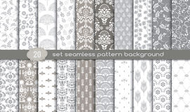 Vector damask seamless pattern background Royalty Free Stock Image