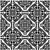Vector damask seamless pattern. Baroque ornament Royalty Free Stock Image