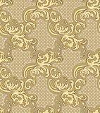 Vector damask seamless pattern element. Classic luxury Baroque ornament, Royal Victorian seamless pattern. vector illustration